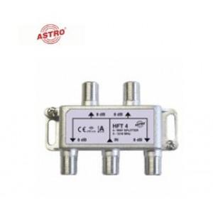 Astro HFT4 verdeler 4-v, tot 1.218 MHz