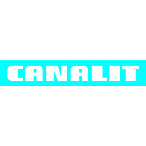 CANALIT CS25 T C - CANALIT Systeem25 t-stuk met bodemstuk 25x13mm crem