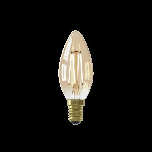 Calex LED Full Glass Filament Candle-lamp 220