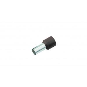 Geïsoleerde Adereindhuls, DIN 46228, 1,5mm², lengte 12mm, zwart