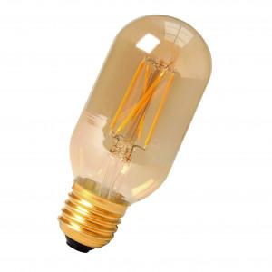LED Filament T45x110 E27 240V 4W 2100K Gold DIM