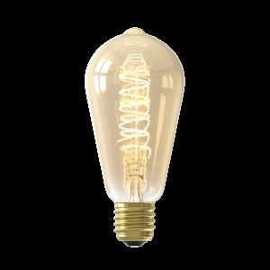 Calex LED Full Glass Flex Filament Rustik Lamp 220