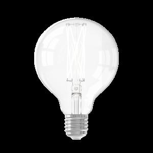 Calex LED Full Glass LongFilament Globe Lamp 220