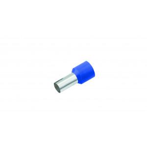 Geïsoleerde Adereindhuls, DIN 46228, 0,75mm², lengte 6mm, blauw