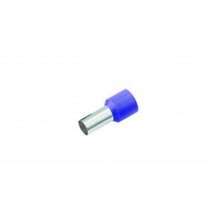 GeÏsoleerde Adereindhuls, DIN 46228, 0,25mm², lengte 6mm, paars